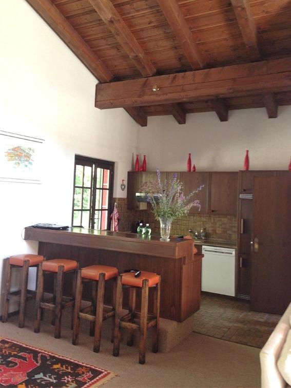 Vista bar-cucina